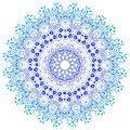 Vector mandala ornament round floral pattern hand drawn decorative element frame geometric circle element Royalty Free Stock Image