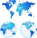 Vektor mapy z země
