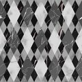 Marble Black and White Luxury Geometric Seamless Pattern