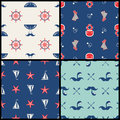 Vector Marinel Seamless Pattern