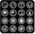 Vector medical icons Royalty Free Stock Image