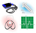 Vector medical icons Stock Photo