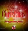 Vector Merry Christmas Illustr...