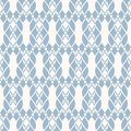 Vector mesh seamless pattern. Delicate abstract light blue and white texture