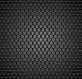 Vector metal grid seamless pattern on transparent background. Black iron speaker grill endless texture. Web page fill. Royalty Free Stock Photo
