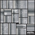 Vector metal scratches Royalty Free Stock Images