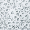 Vector modern mechanism industrial concept. Technology gears background Royalty Free Stock Photo