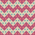 Vector modern seamless colorful geometry chevron lines pattern, color candy abstract Royalty Free Stock Photo