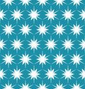 Vector modern seamless colorful geometry pattern floral blue, color abstract Royalty Free Stock Photo