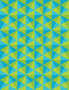 Vector modern seamless colorful geometry pattern, mosaic, color green blue abstract