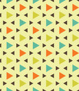 Vector modern seamless colorful geometry pattern triangle polygon, color blue orange green abstract