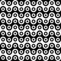 Vector modern seamless geometry pattern cells Royalty Free Stock Photo