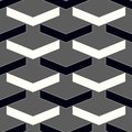 Vector modern seamless geometry pattern chevron, black and white abstract geometric background, subtle pillow print, monochrome re