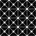 Vector modern seamless geometry pattern dots , black and white abstract Royalty Free Stock Photo