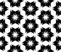 Vector modern seamless geometry pattern floral, black and white abstract geometric background