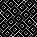 Vector modern seamless geometry pattern squares, black and white abstract