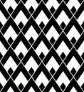 Vector modern seamless geometry pattern triangle black and white abstract geometric background pillow print monochrome retro Stock Photos