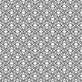 Vector modern seamless geometry pattern triangle, black and white abstract geometric background Royalty Free Stock Photo