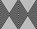 Vector modern seamless pattern grid rhombuses