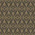 Abstract art deco pattern background tiles Royalty Free Stock Photo