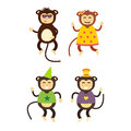 Vector monkey icon.