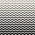 Vector monochome patten, smooth zigzag lines