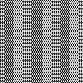 Vector monochrome seamless pattern, simple wavy lines
