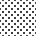 Vector monochrome seamless texture, octagons