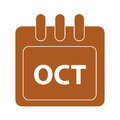 Vector month on calender