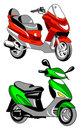Vector motorcycle icon Royalty Free Stock Photo