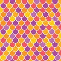 Vector Multicolor Scallops Sca...
