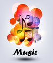 Vector  music Royalty Free Stock Image
