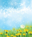 Vector nature background.