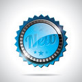 Vector New Labels Illustration with shiny styled design. Stock Photos