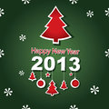 Vector New Year banner Royalty Free Stock Photos