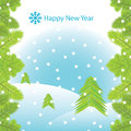 Vector New Year card Stock Images