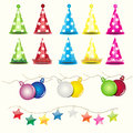 Vector Object Decorate Party C...