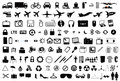 Vector objects icons pictograms