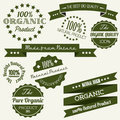 Vector Old retro vintage elements for organic Royalty Free Stock Images