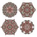 Vector oramental designs Royalty Free Stock Photo
