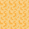Vector orange pattern.