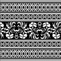 Vector oriental pattern Royalty Free Stock Image