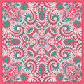 Vector ornamental background vintage pattern for print embroidery you can use this pattern for carpet shawl pillow cushion Stock Photo