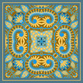Vector ornamental background vintage pattern for print embroidery you can use this pattern for carpet shawl pillow cushion Royalty Free Stock Photo