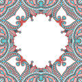 Vector ornamental background vintage pattern for print embroidery you can use this pattern for carpet shawl pillow cushion Royalty Free Stock Photography
