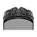 Vector Ornate Comb.