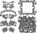 Vector Ornate Design Elements Stock Photo