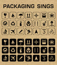 Vector Packaging Icons Set