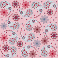 Vector paisley seamless pattern and seamless pattern in swatch m menu oriental can be used for Royalty Free Stock Photography