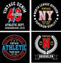 Vector patch varsity collection 03